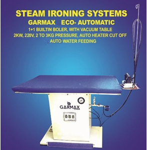 Economic steam iron